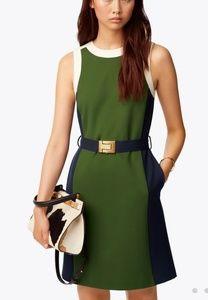Tory Burch color block Sheath dress